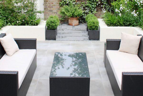 Clean Contemporary Urban Garden