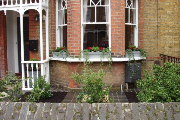 An Edwardian update - front garden