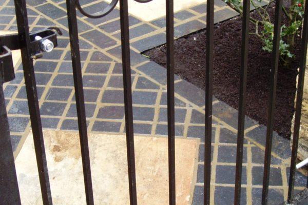 An Edwardian update - front gate